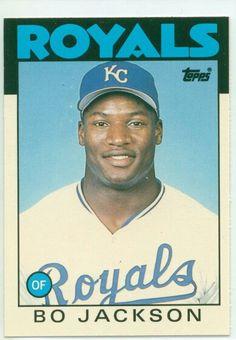 Bo Jackson rookie card