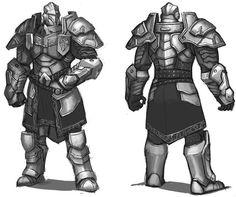 Knight/Fighter full plate armor
