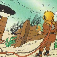 Tintin en danger...