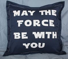 DIY Knock off Star Wars Pillow