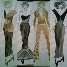 More than one year ago... #style #stylist #fashion #illustration #fashionillustration #design #designer #fashiondesign #fashiondesigner