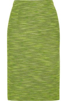 Etro Cotton-blend tweed pencil skirt | NET-A-PORTER