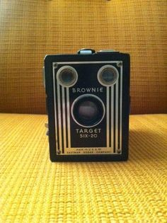 I want to get a cool old camera to decorate my house next to our 8mm camera