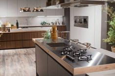 Kitchen Design Idea  Integrate Your Cooktop With Your Kitchen Alluring Counter Kitchen Design Decorating Design
