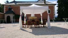 #Hochzeit #Dekoration #Mietmöbel #Zelt Gazebo, Outdoor Structures, Tent Camping, Wedding, Decorations, Kiosk, Pavilion