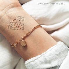 Fine Line Diamond Temporary Tattoo (Set of Fine Line Diamond Temporary Tattoo ., - Fine Line Diamond Temporary Tattoo (Set of Fine Line Diamond Temporary Tattoo …, - Tattoo Girls, Tattoos For Guys, Tattoos For Women, Tattoo Diy, Card Tattoo, Simple Leg Tattoos, Small Tattoos, Rib Tattoos, Stomach Tattoos