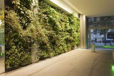 Cool 45 Gorgeous Indoor Vertical Garden Design Ideas. More at https://decoratrend.com/2018/02/19/45-gorgeous-indoor-vertical-garden-design-ideas/