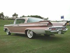 1959 Mercury Park Lane Coupe in Mauve with Mauve Brocade interior. Ford Classic Cars, Classic Chevy Trucks, Ford Motor Company, Muscle Cars, Vintage Cars, Antique Cars, Vintage Ideas, Edsel Ford, Mercury Cars