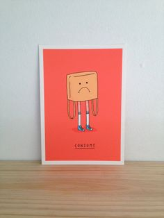 Consume  Art Print A4 by Haasbroek on Etsy, $35.00
