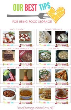 Our Best Tips for Using your Food Storage - How we took some of our favorite recipes from Our Best Bites and turned them into food storage recipes with a few simple substitutions.