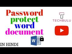 how to password protect a ms word 2007 document