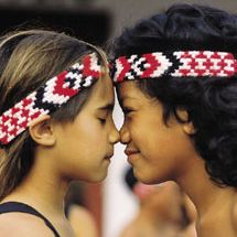 Traditional Maori Greeting  #world #culture