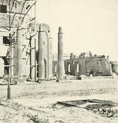 (1865) Ruins of Secession Hall - Charleston, SC