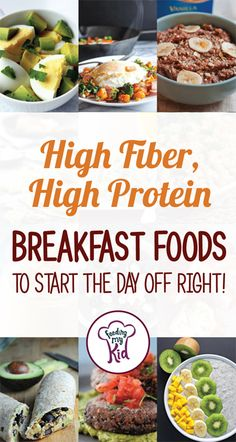 Try these amazing high fiber, high protein breakfast foods that will help you…