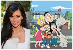 Kim Kardashian vai dublar alienígena na série animada American Dad >> http://glo.bo/1fD4vbv