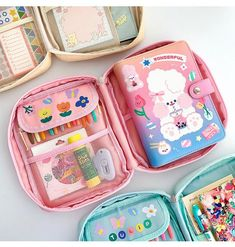 A5 Diary, Cool School Supplies, Cute Stationary, Pencil Bags, Cute Bags, Pouch Bag, Bag Storage, Craft, Cool Things To Buy