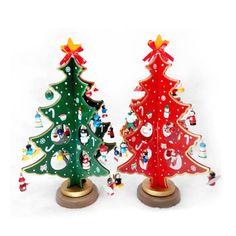 1pc Snowflake Pattern Wooden Sleds Boots Christmas Xmas Tree Hanging Pendant Random Color Latest Technology Diamond