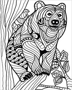 ColorIt Wild Animals Coloring Book: Premium Hardcover With Top Spiral Binding Grown Up Coloring Book Features 50 Original Hand Drawn Animal Coloring Pages for Adults: Terbit Basuki, ColorIt: 0638037929201: http://Amazon.com: Books