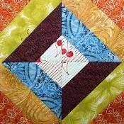 Mosaic, Spools Block Tutorial - via @Craftsy FREE