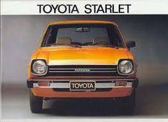 1973 Toyota Starlet.