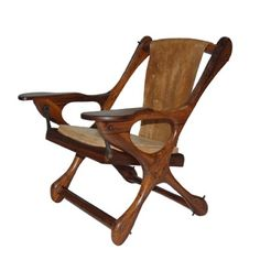 Sling swinger chair.
