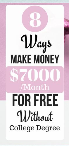 Check out 8 How to Make Money Online for Free With 8 Easy Ways without any investment. If you are tired from your job, then this will be a great choice. How To Get Money Fast, Ways To Earn Money, Make Money From Home, Online Income, Earn Money Online, Online Careers, Marketing Program, Money Today, Work From Home Jobs