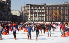 Eislaufen in Mexiko Stadt Ⓒ Viktoria Urbanek / chronic-wanderlust.com Wanderlust, Street View, Ice Skating, Ski