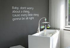 Muurstickers Babykamer: Mooie muurstickers voor in de babykamer!