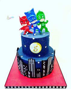 Pj masks cake  https://www.facebook.com/A-Spoonful-of-Sugar-Cakes-Monica-Mancini-190380441153252/