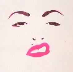 Madonna Stencil by ~DreamDateLenin on deviantART