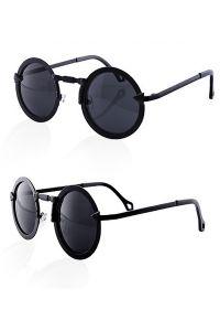 aw-ps: Als Assecoire Steampunk Brille mit runden Gläsern