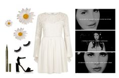 """""""young and in love"""" by matilda-lunqvist ❤ liked on Polyvore featuring Stila, River Island and Sam Edelman"""