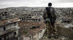Il fotografo Bülent Kiliç racconta come ha scattato una sua foto a Kobane, città curda della Siria.
