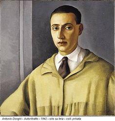 Antonio Donghi, self-portrait, 1942