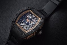New Richard Mille Watch is a Masterpiece and a Mouthful via @sub5zero
