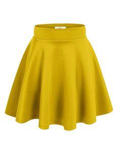 Simlu Womens Skater Skirt, A Line Flared Skirt Reg & Plus Size Skater Skirts USA at Amazon Women's Clothing store: