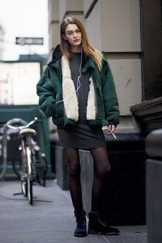 【ELLEgirl】Marija(19)/ソーシャルメディアPR STREET STYLE / ニューヨークスナップ エル・ガール・オンライン
