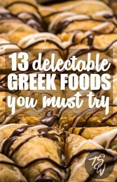13 Greek Foods I'd Fly Back to Greece for in a Heartbeat Greece won me over for so many reasons, not least of which being ALL THE AMAZING FOOD! Make sure to try these 13 delicious dishes on your Greek holiday. Greece Vacation, Greece Travel, Greece Trip, Greece Cruise, Santorini Travel, Mykonos, Best Greek Food, Greek Menu, Greece Food