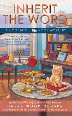 Inherit the Word, 2nd in A Cookbook Nook Mystery series by MLK author Daryl Wood Gerber (debuts March 2014) Why not give your Christmas reader a gift card to purchase a great mystery?!! www.darylwoodgerber.com/books.html