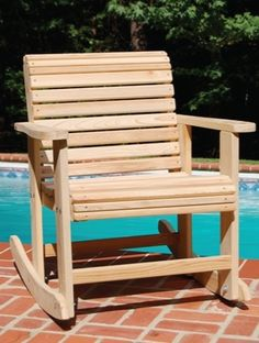 easy rocking chair