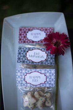 Eid Treat Bag Toppers 4 Luxor Collection Red & by NorisaDesigns Eid Crafts, Ramadan Crafts, Ramadan Decorations, Iftar Party, Eid Party, Eid Ramadan, Ramzan Eid, Goodie Bags For Kids, Happy Eid