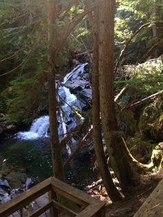 Lower Snow Creek Falls