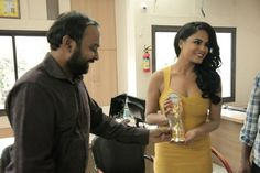 Veena Malik Visits Indore For Super Model