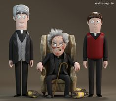Father Ted by Kibooki