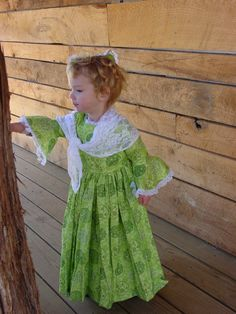 Williamsburg Historical Clothing Victorian by kellyscostumes, $79.99