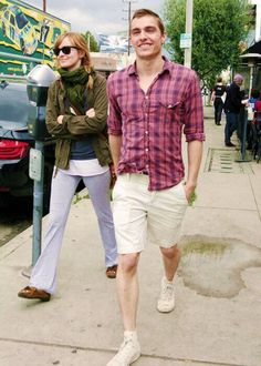 You know, just a stroll through the city....with Dave Franco.