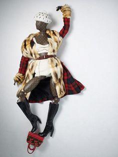 Vuitton's Grafitti Mannequins