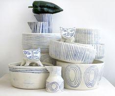 Handmade ceramics by Paula Greif, Hudson, NY | Remodelista