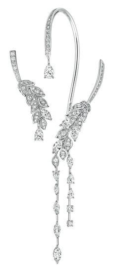 Brins de Diamant #Earrings from #LesBlesDeChanel - #Chanel - #FineJewelry…