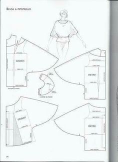 Album Archive - Best Sewing Tips Pattern Drafting Tutorials, Easy Sewing Patterns, Sewing Tutorials, Dress Tutorials, Blouse Patterns, Clothing Patterns, Skirt Patterns, Coat Patterns, Blouse Designs